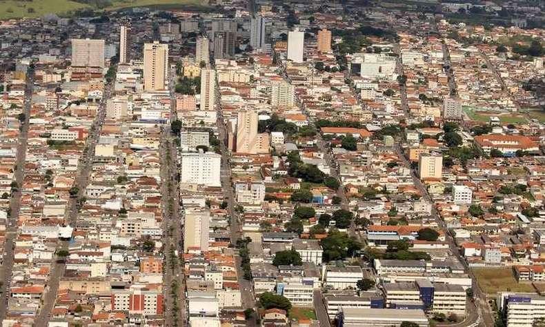 Alfenas, sede da UNIFAL e UNIFENAS, duas das nelhores Universidades do Brasil