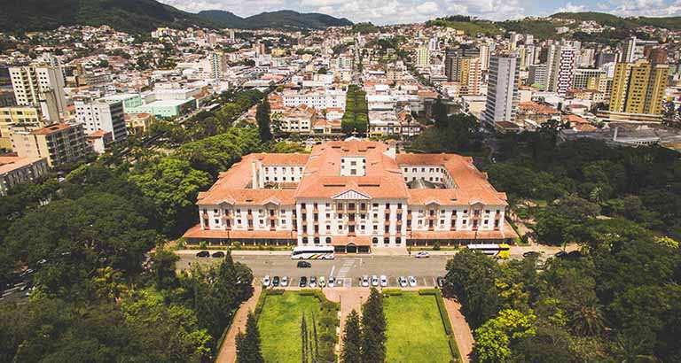 Poços de Caldas, a mais populosa cidade do Sul de Minas