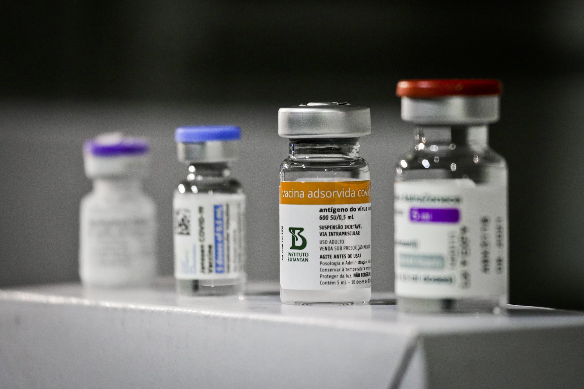 Sul de MG chega a 44% da população vacinada com a 1ª dose da vacina contra a Covid-19