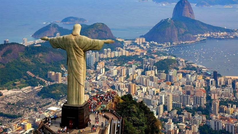 Rio de Janeiro, Cidade Maravilhosa, onde a COVID-19 continua fazendo vítimas...